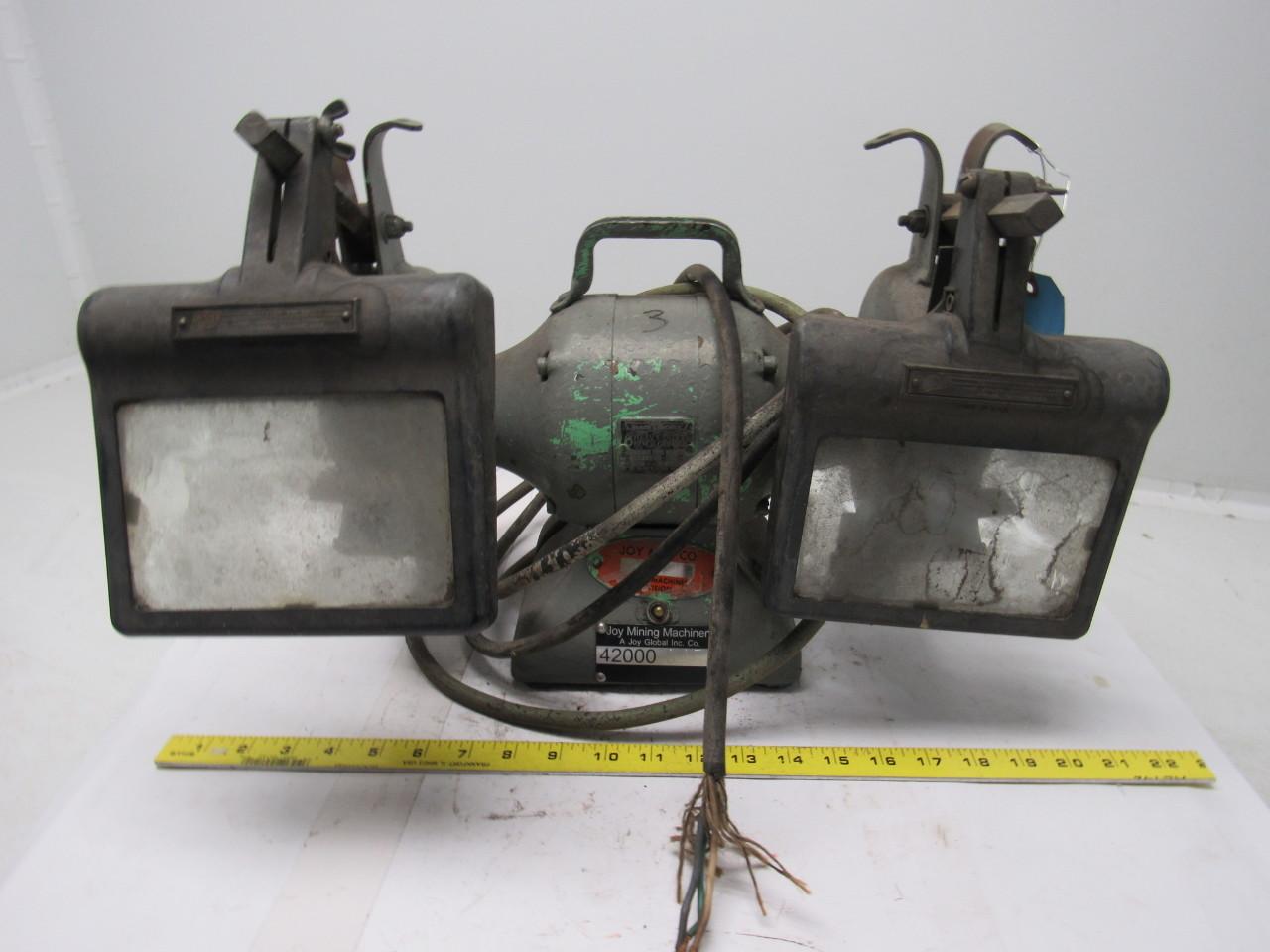 Black Decker Vintage Industrial 6 Bench Grinder 220 230v 1ph 1 3hp Ebay