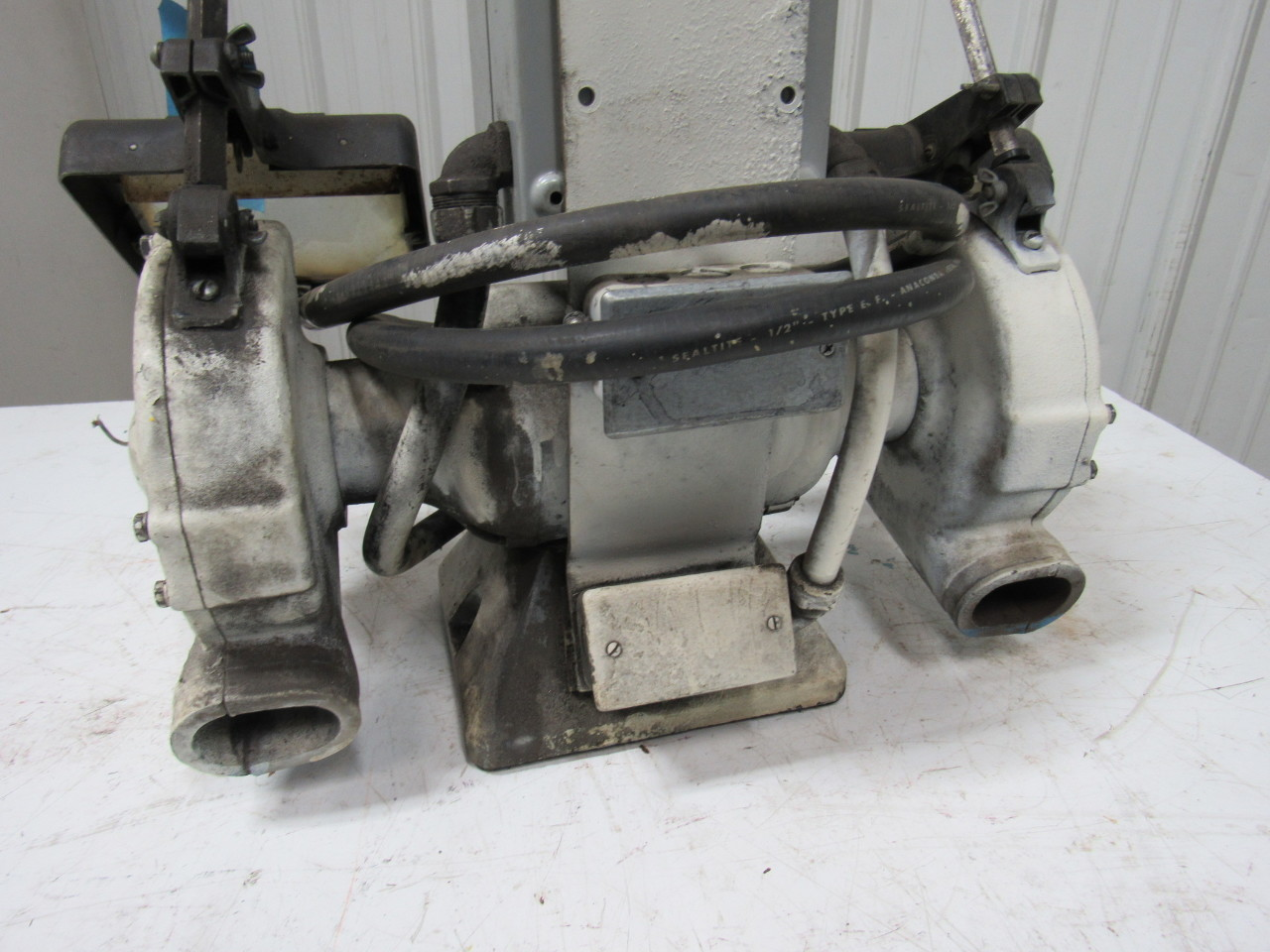 Baldor 7309d Industrial 7 Deluxe Bench Grinder 220 230 460v 3ph 1 2hp