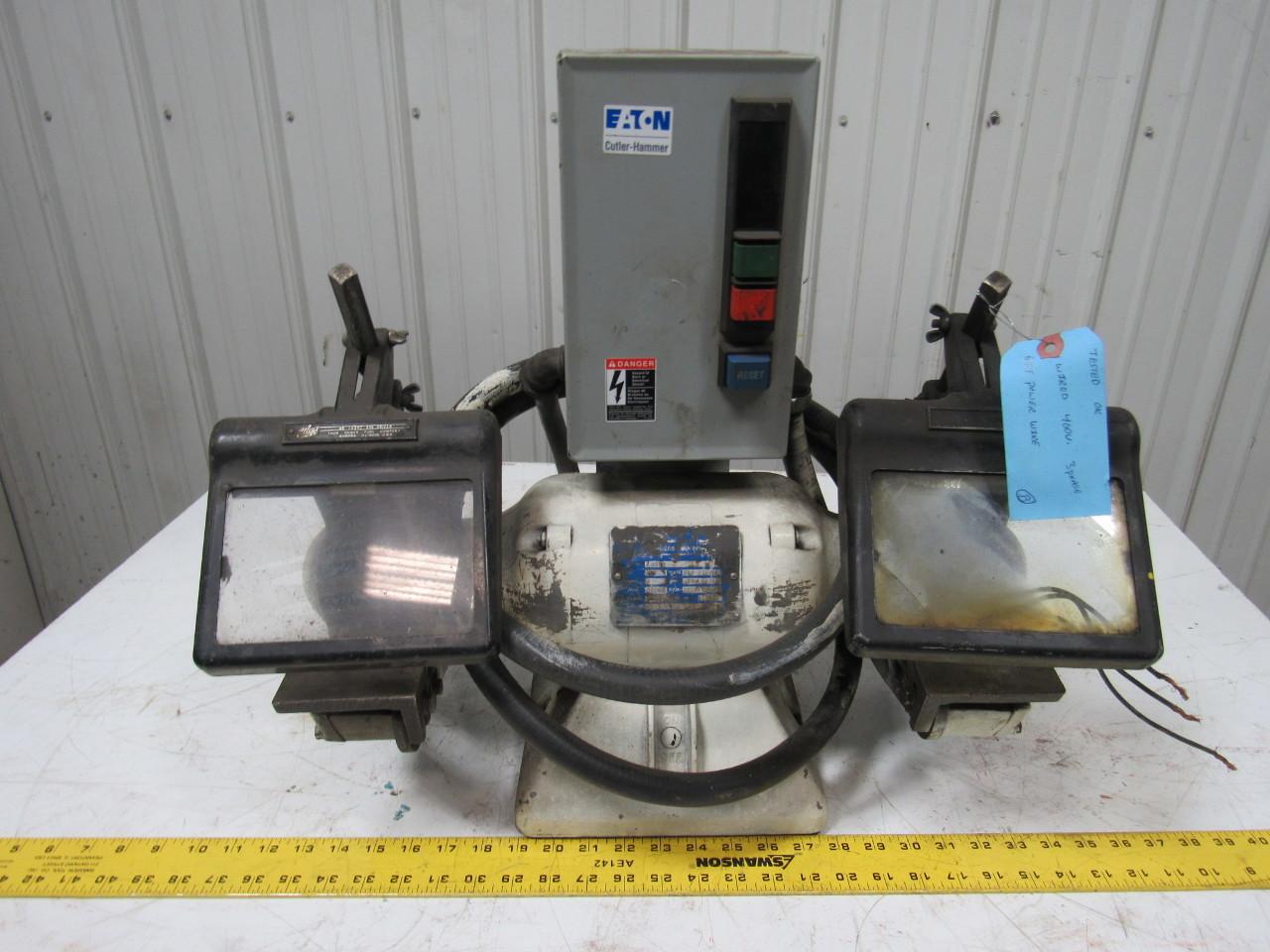 """Baldor 7309D Industrial 7"""" Deluxe Bench Grinder 220-230 ..."""