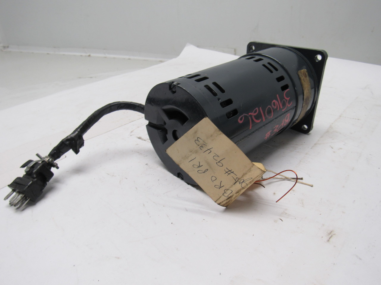 Robbins Myers Fm Sp 294 Rpm 115 V Reversible Gear Electric