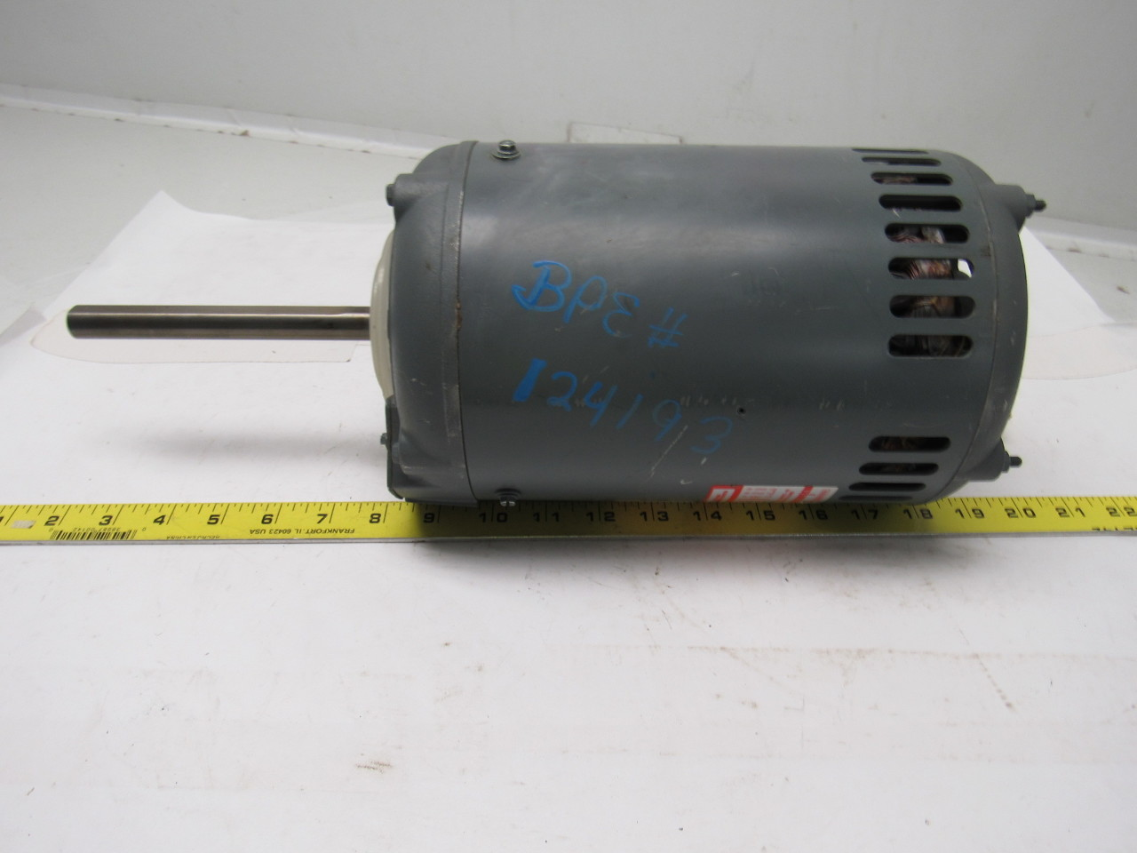 Dayton 3n470 1 5hp 3ph 208 230 460v 1140rpm condenser fan for Dayton electric fan motors