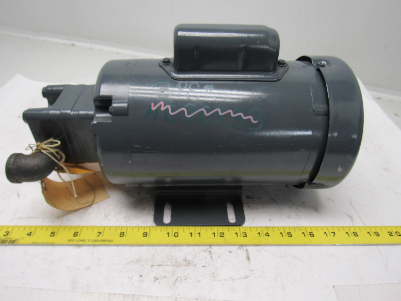 Delta Power Hydraulic A4 Pump W 1 2hp 1725rpm 115 208 230v