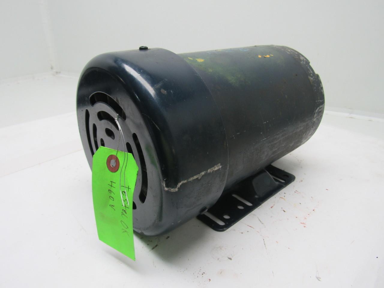 Leeson Electric C145t11fb6a 1 Hp 3ph 208 230 460v 1140rpm