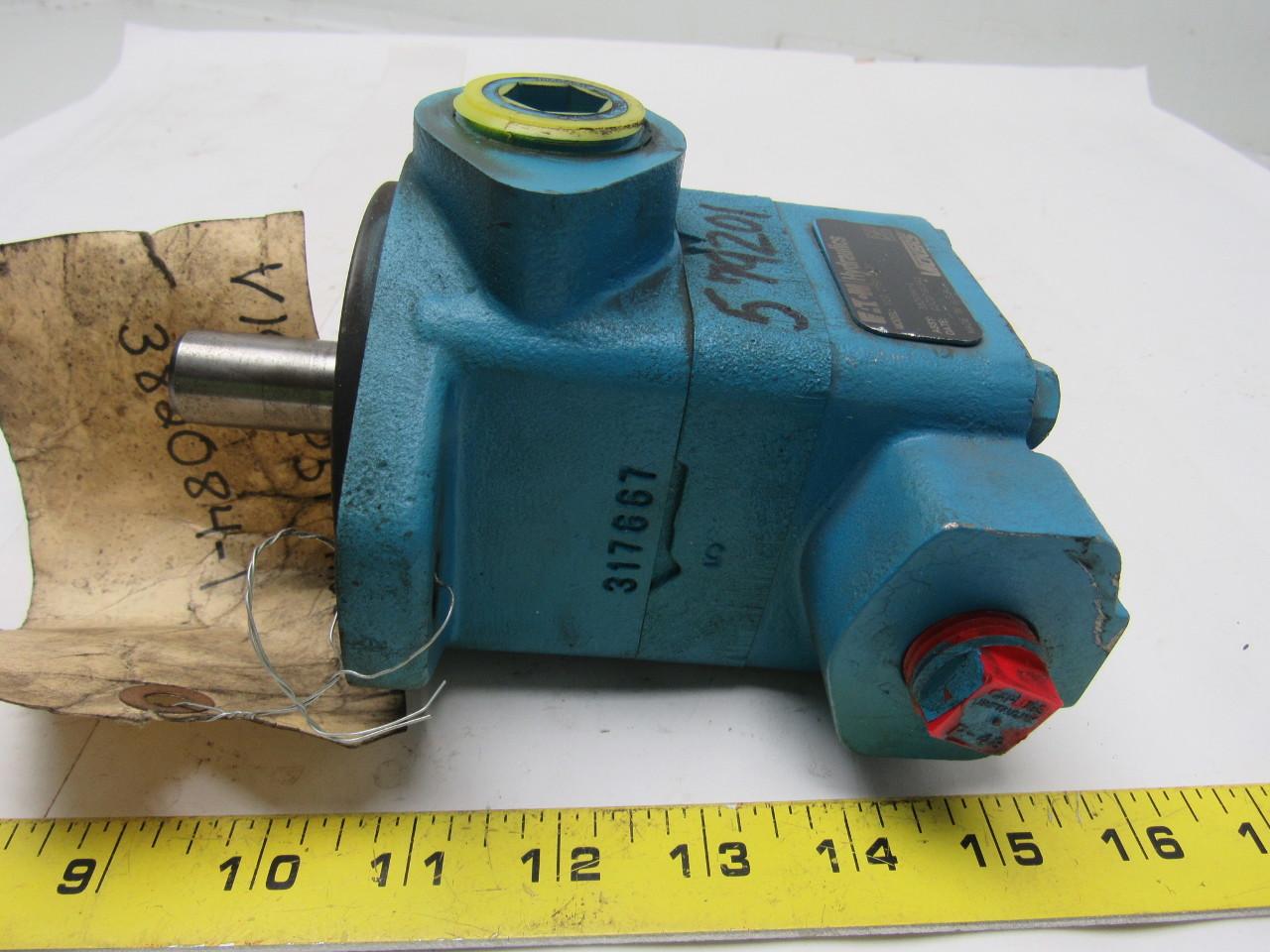 Vickers V10 1P5P B20 Hydraulic Vane Pump 5GPM 1