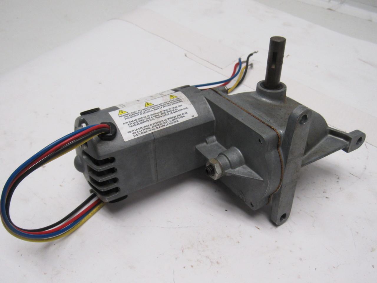 Dayton 1lpz6a Ac Dc Right Angle Gear Motor 115v 1 4a