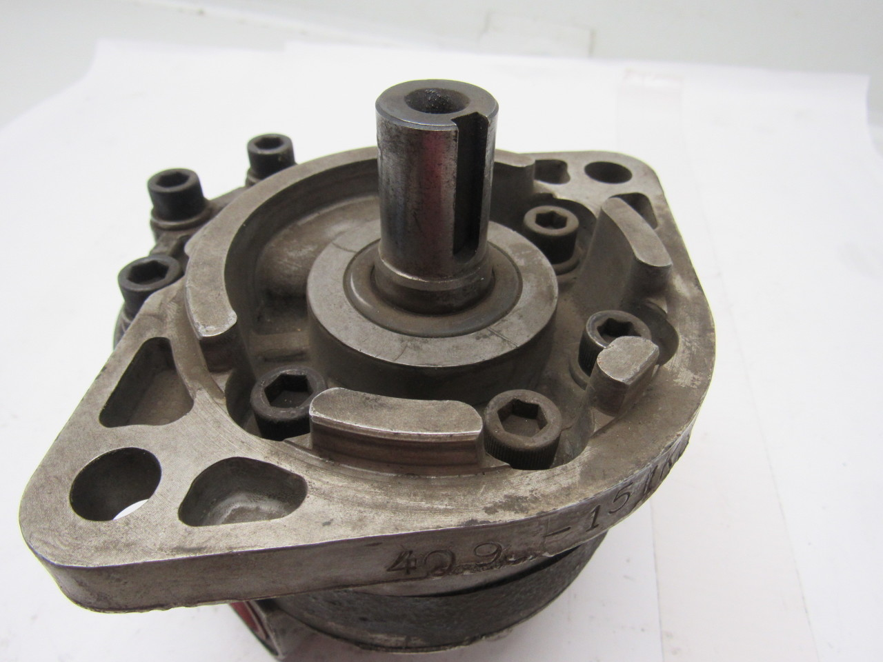 Webster 409 151kb1asx rg92 hydraulic gear pump 1 npt for How to size a hydraulic pump and motor