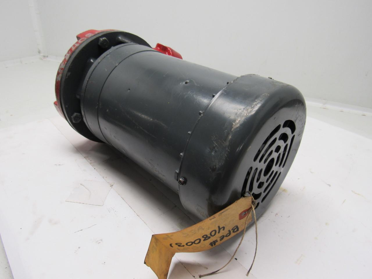 Scot Pump Aec 254 H0 In Line Centrifugal Motor Pump 1 1