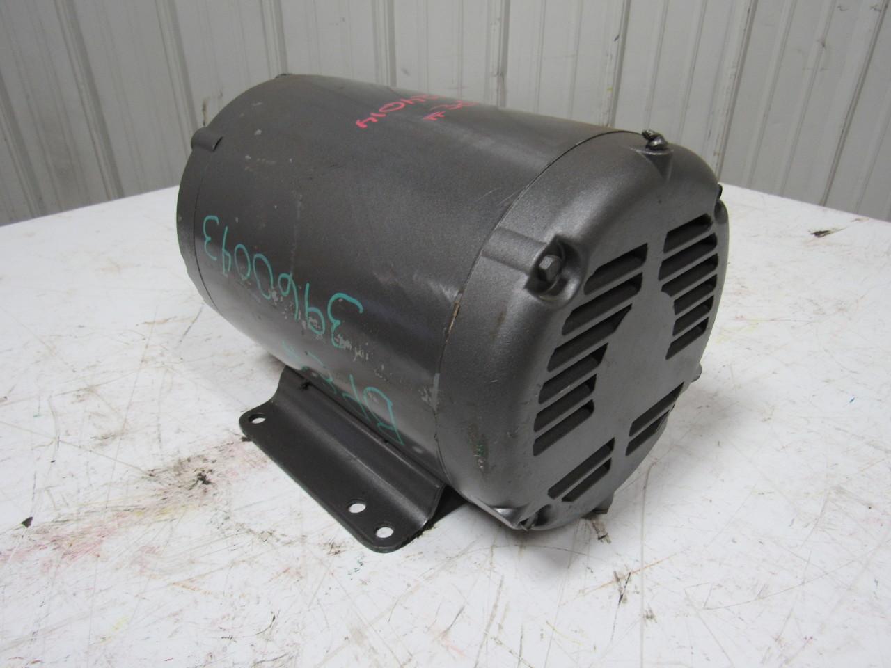 Baldor Jmm3219t 7 1 2hp 3ph 3450 Rpm 208 230 460v Electric