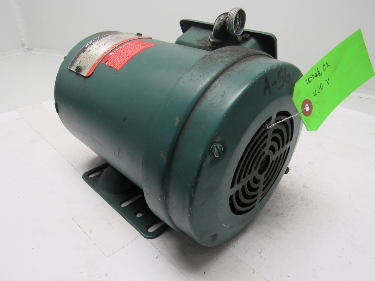 Reliance electric b77r7436m pq 1 5hp 3ph 208 230 460v for 5hp 3ph electric motor