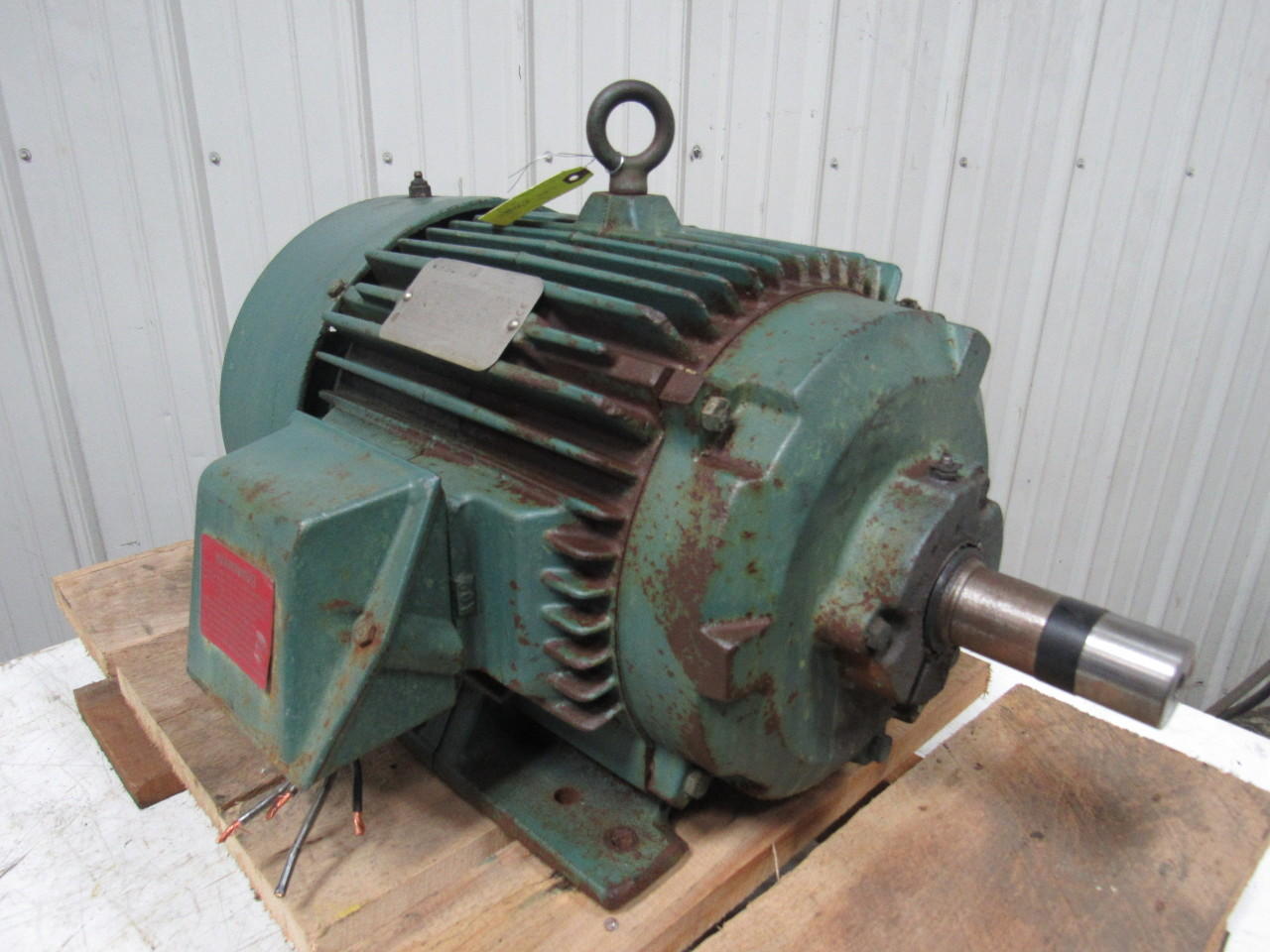 Reliance electric p25g3312m 20hp electric motor 3ph 460v for 20 rpm electric motor