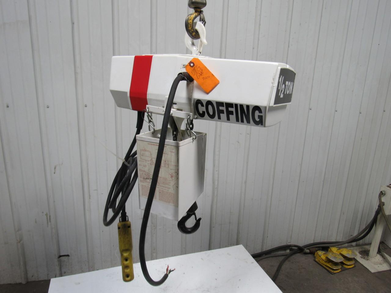 coffing ec1032.4 1/2 ton electric chain hoist 11'lift@ 10 ... 2001 subaru legacy 2 5l engine parts diagram