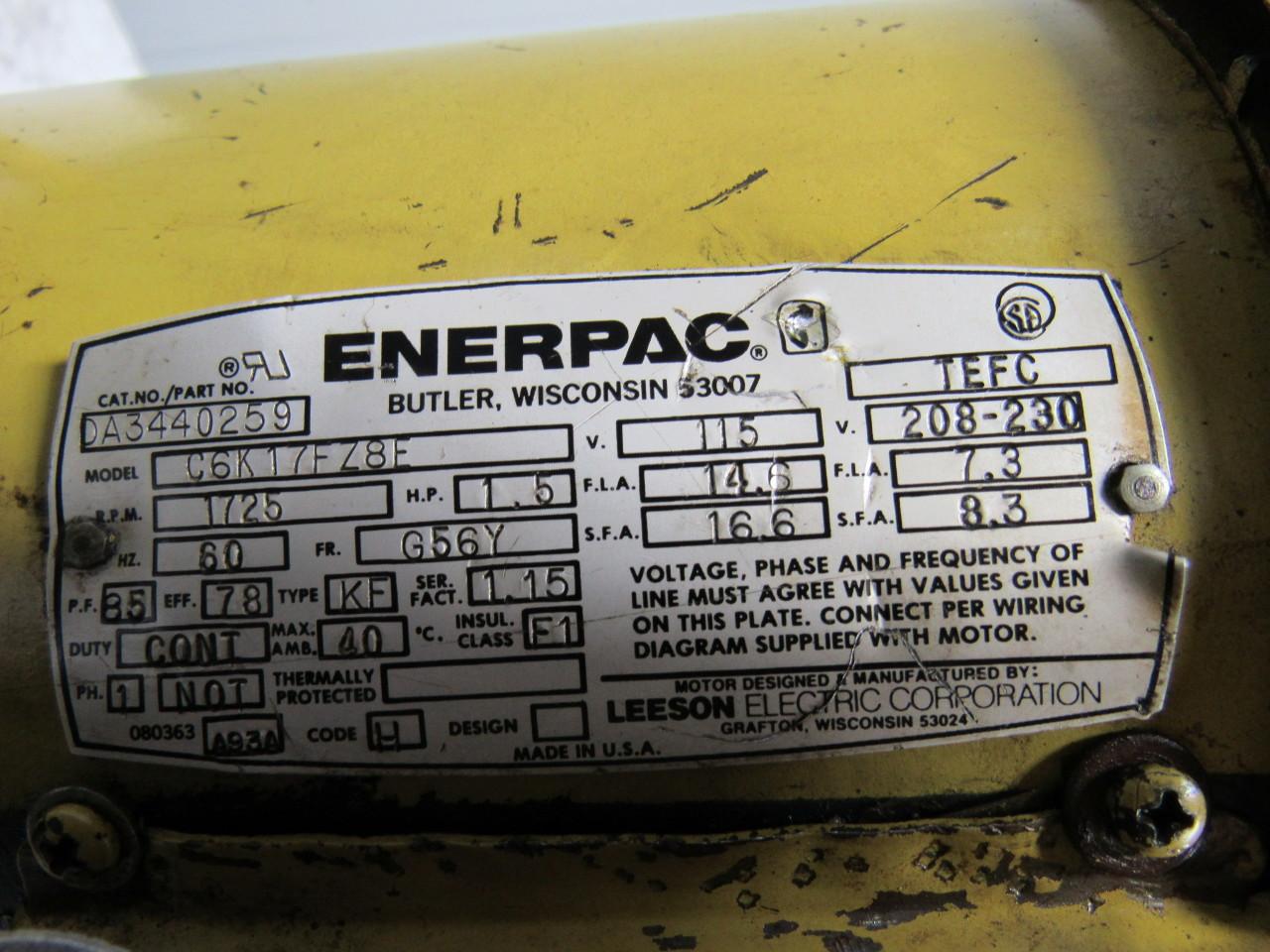 enerpac pem3602b 30000 submerged 10 000psi max electric hydraulic electric hydraulic pump 1phase · enerpac pem3602b 30000 submerged 10 000psi max electric hydraulic pump 1phase