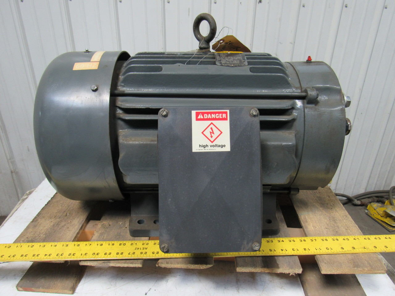 Baldor Cm4109t 40 Hp 230 460v 3ph Electric Motor 324tsc