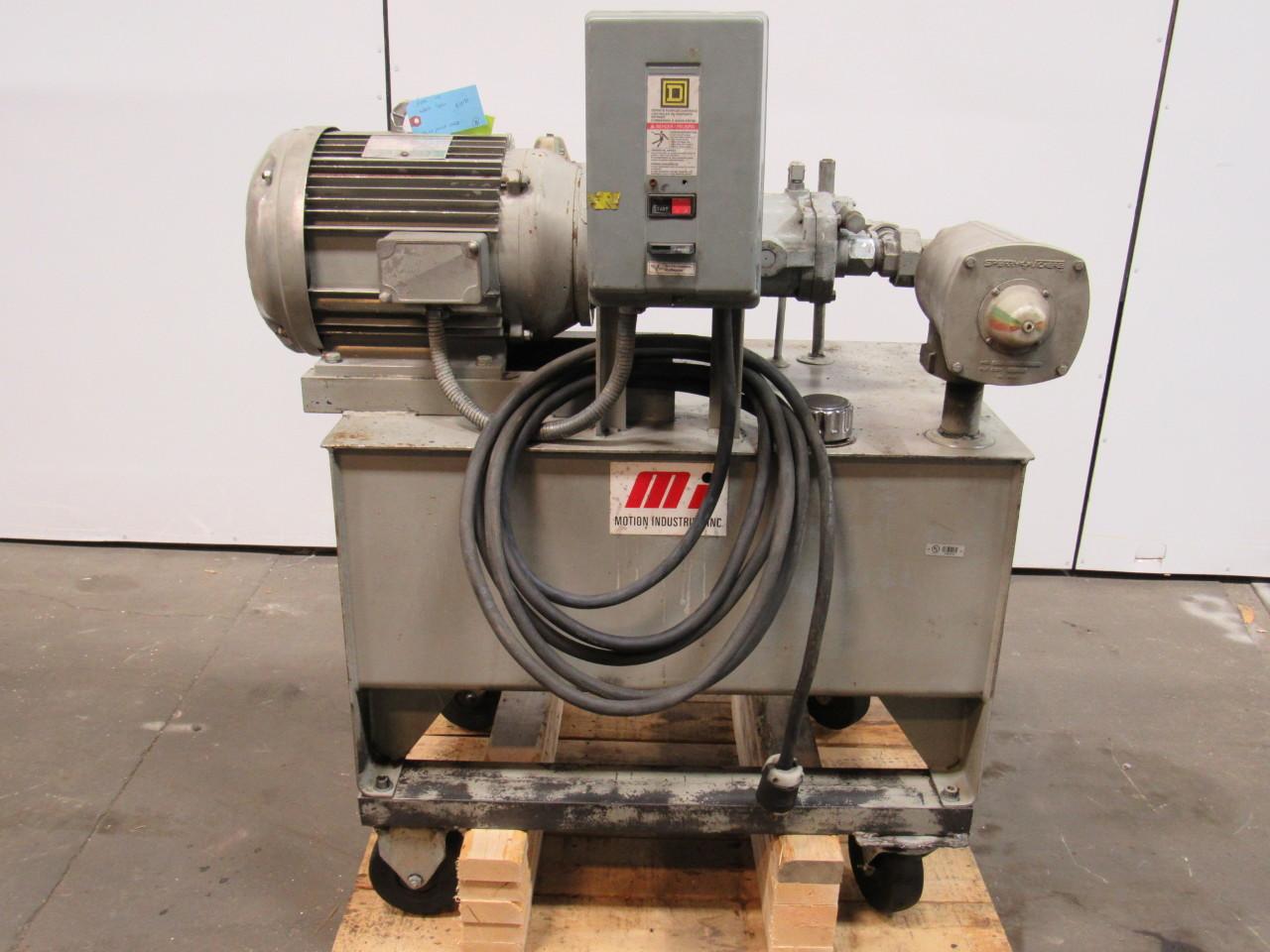 VICKERS PVB15RSY31CM11 Hydraulic Power Pump Unit 15.7GPM 2000PSI 42Gal.Tank