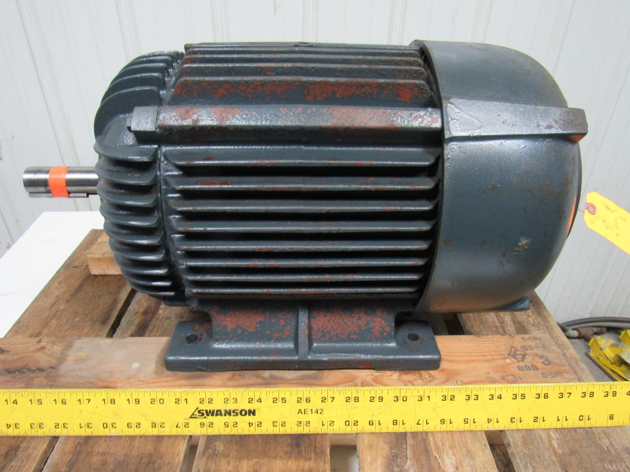 Westinghouse Life Line 5hp Electric Motor 440v 3 Ph 356u