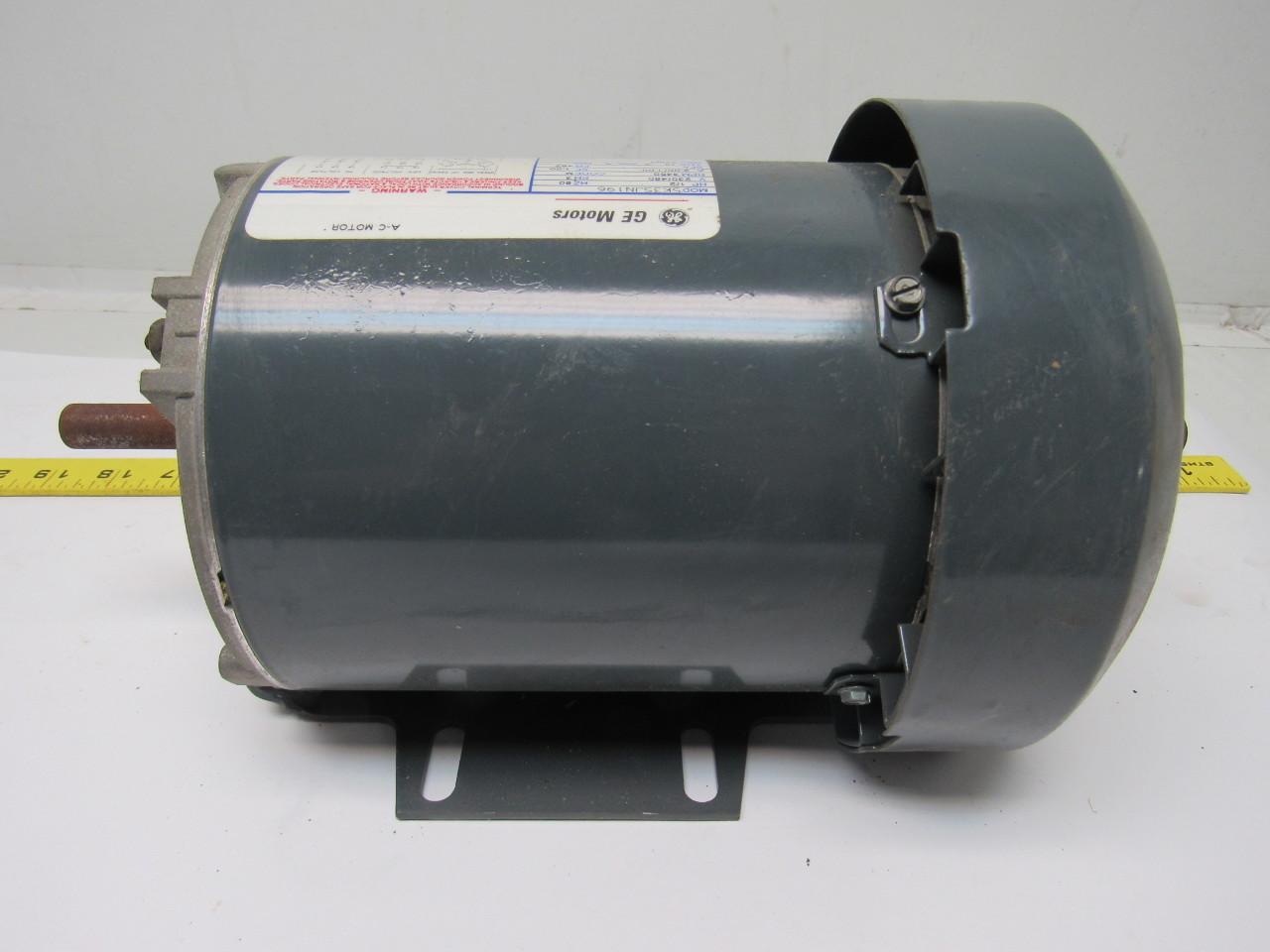 Ge General Electric 5k35jn196 1 2hp Electric Motor 230