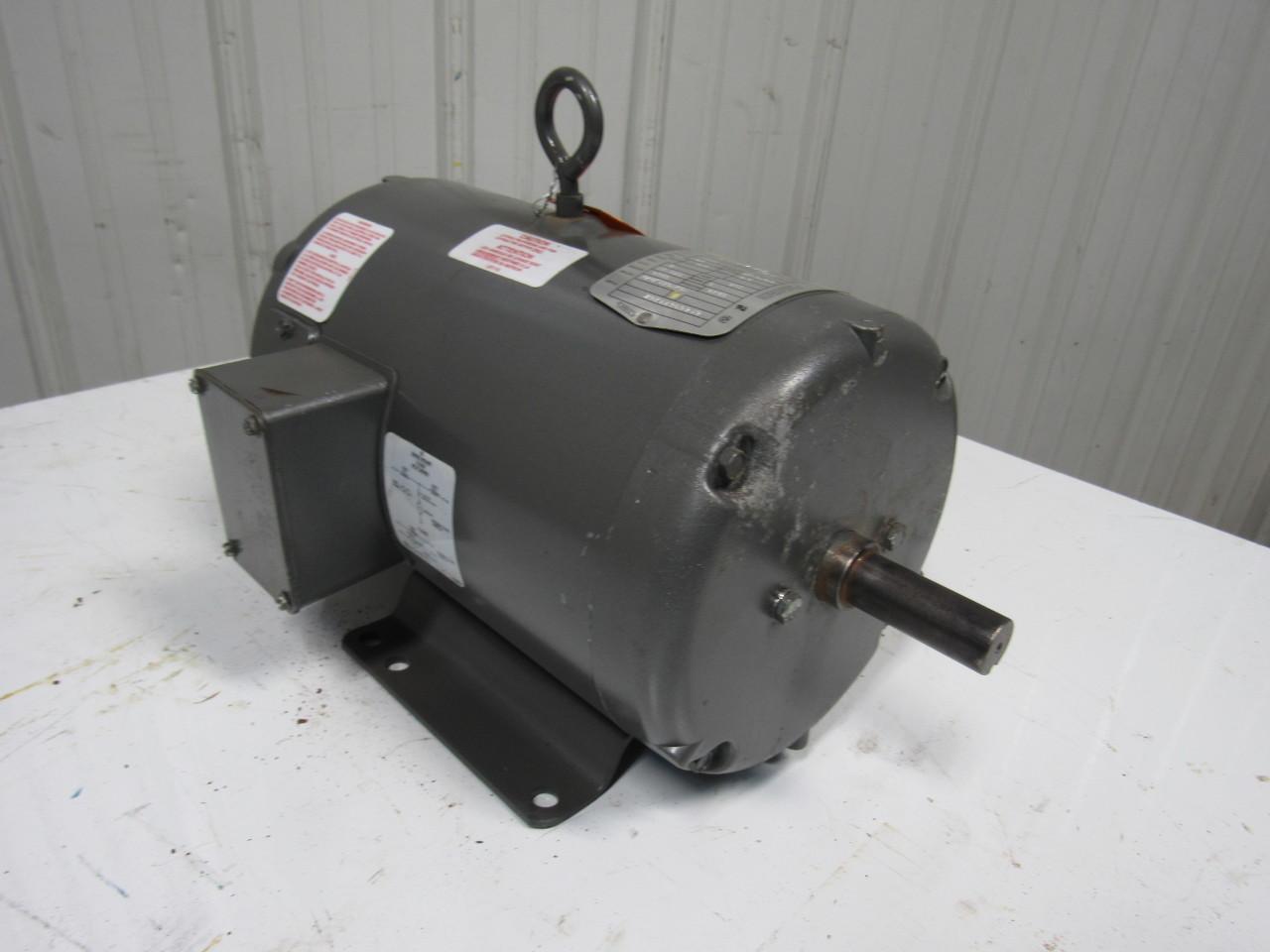 Baldor 1hp dc electric motor 230vdc 182 frame 1200 rpm for Electric motor rebuilders near me