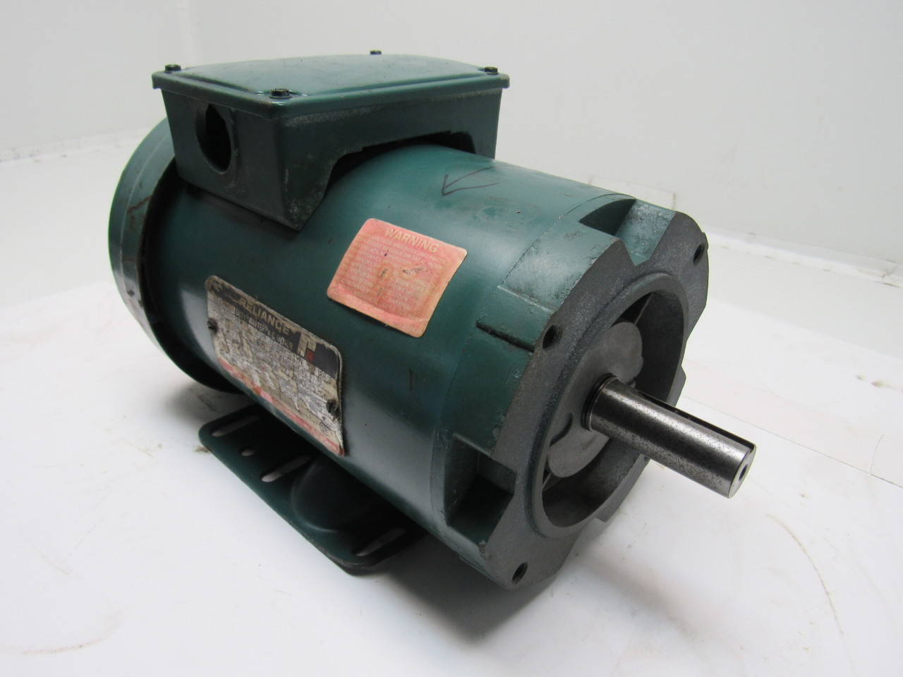 Reliance fj145tc 3 4 hp duty master ac motor 230 460 60 hz for Duty master ac motor