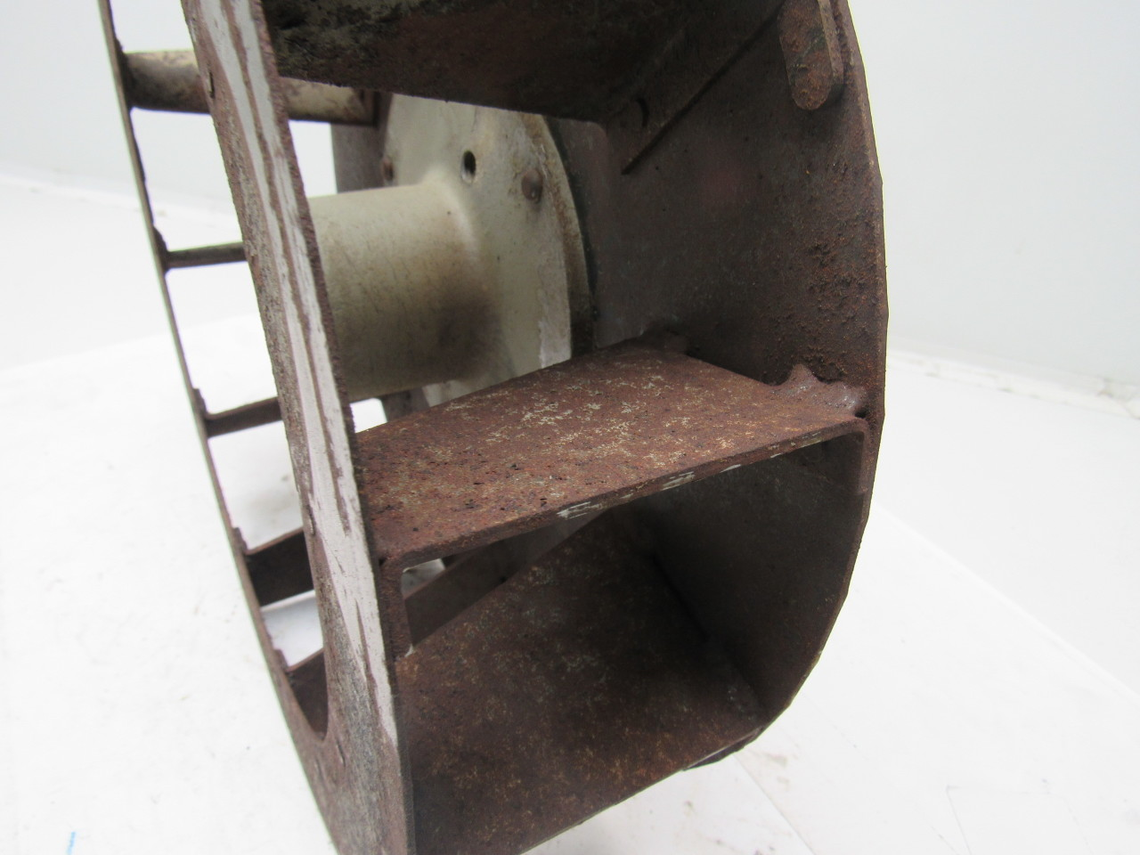 Torit 13 1 2 x 3 1 2 dust collector blower fan for Dust collector motor blower