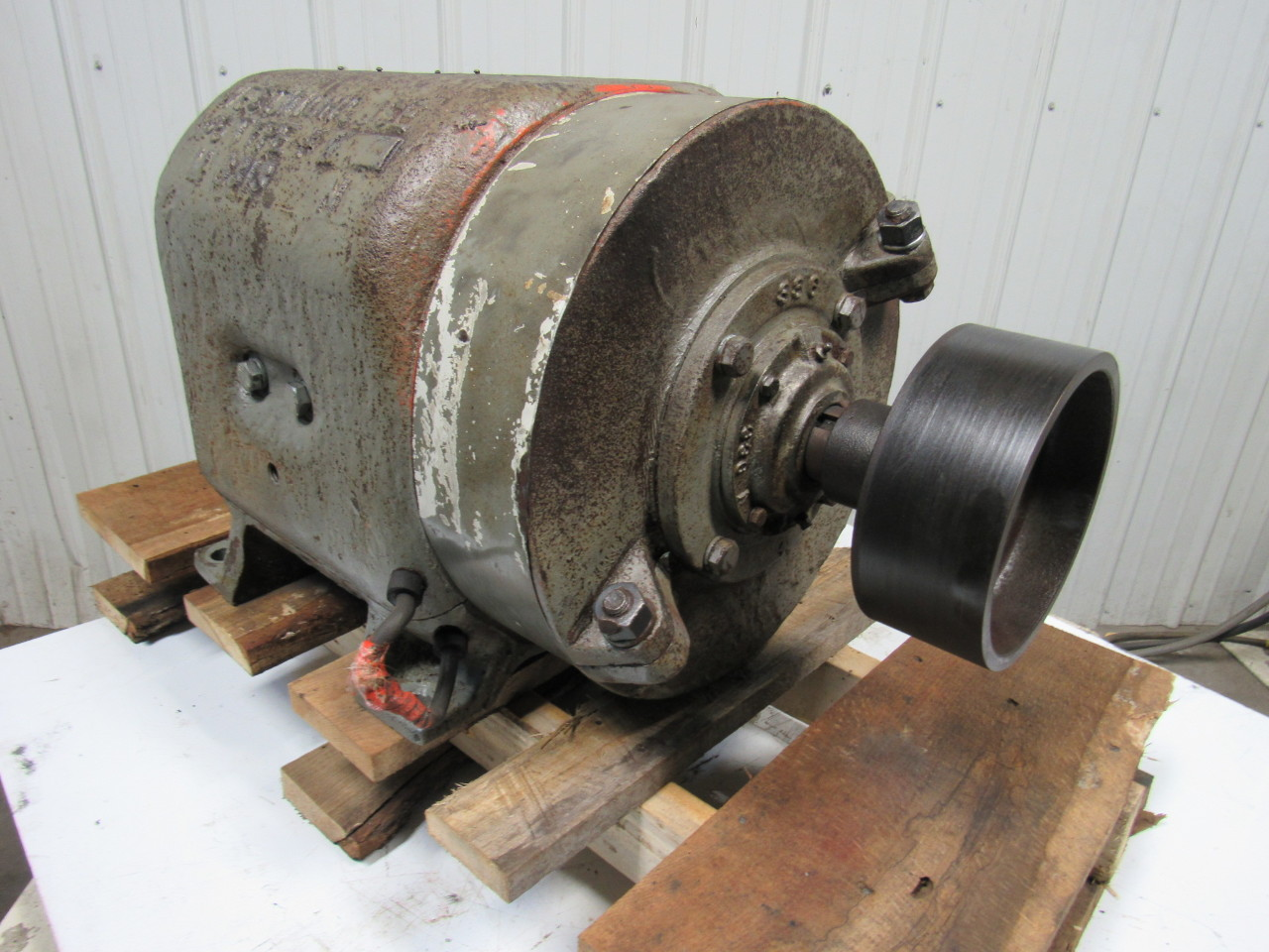 Westinghouse no 6 type k m6313n vintage electric motor for Types of electric motor