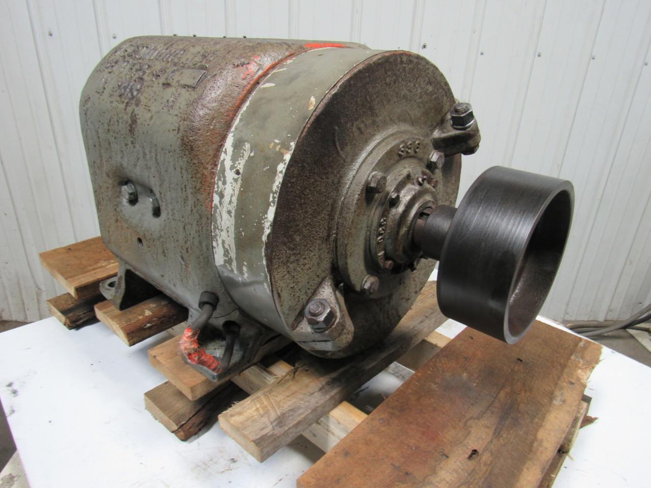 Westinghouse no 6 type k m6313n vintage electric motor for Motors used in cranes