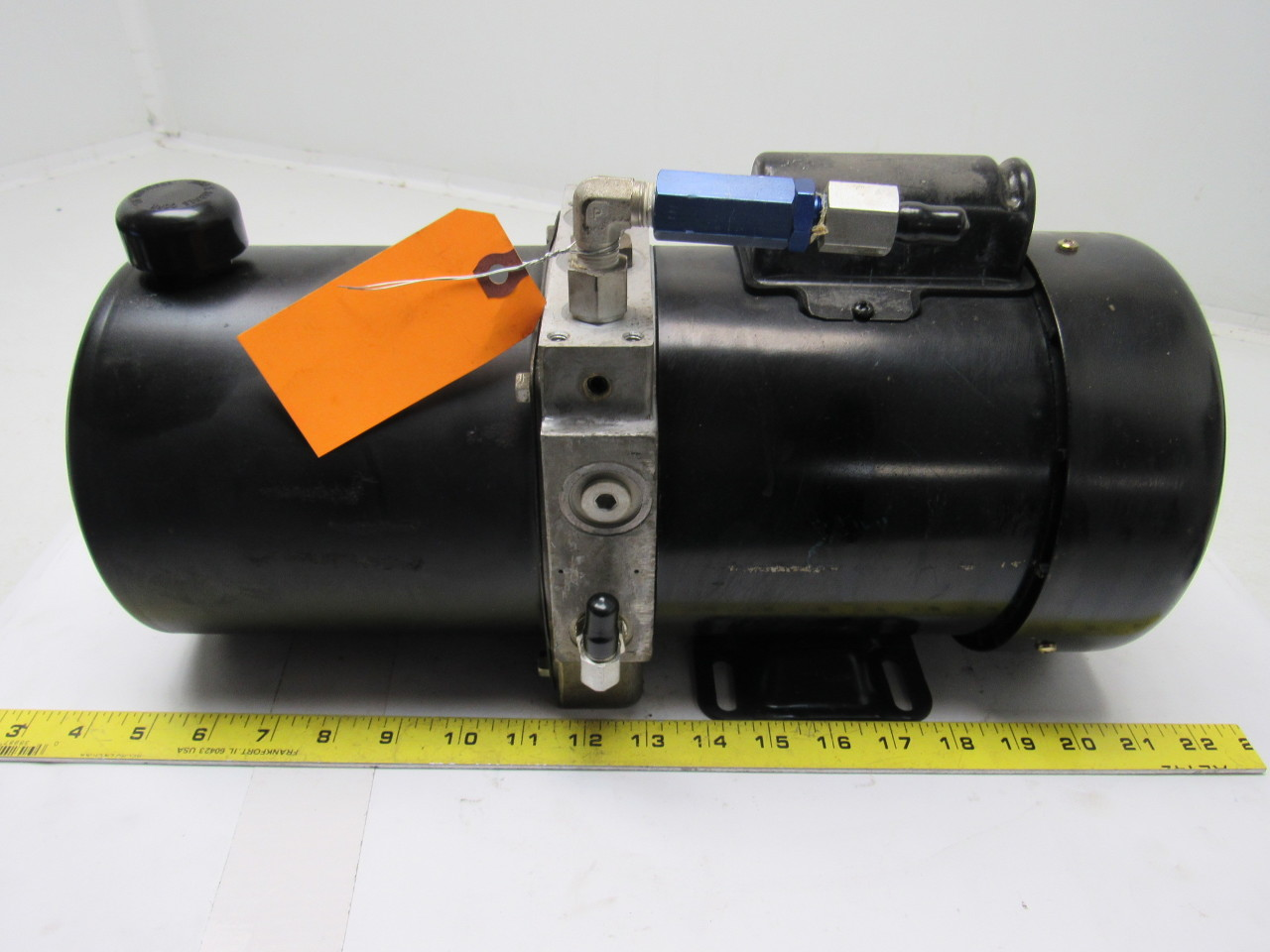 John s barnes corp c6c17fz5a hydraulic pump w leeson 1 2 for How to size a hydraulic pump and motor