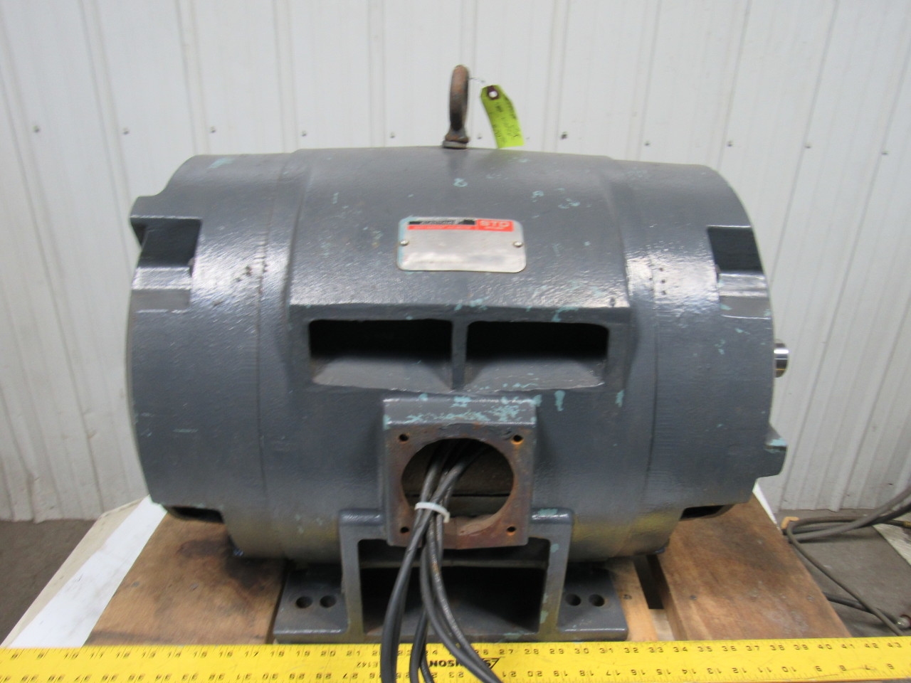 Reliance p36g0087b 100 hp duty master ac electric motor for 100 hp dc motor