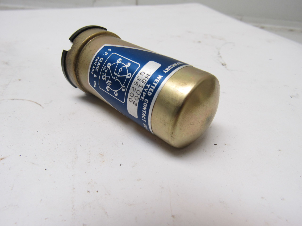 CP CLARE & CO HG-1002 8 PIN Mercury Wetted Contact Relay