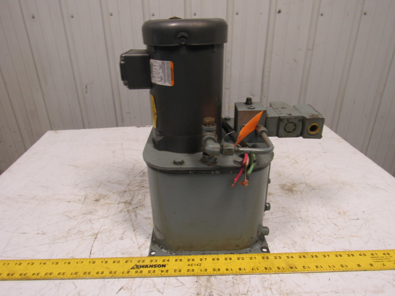 Circuitpak Double A Hydraulic Power Unit W/1/2Hp Baldor Motor 230/460V 3 Ph