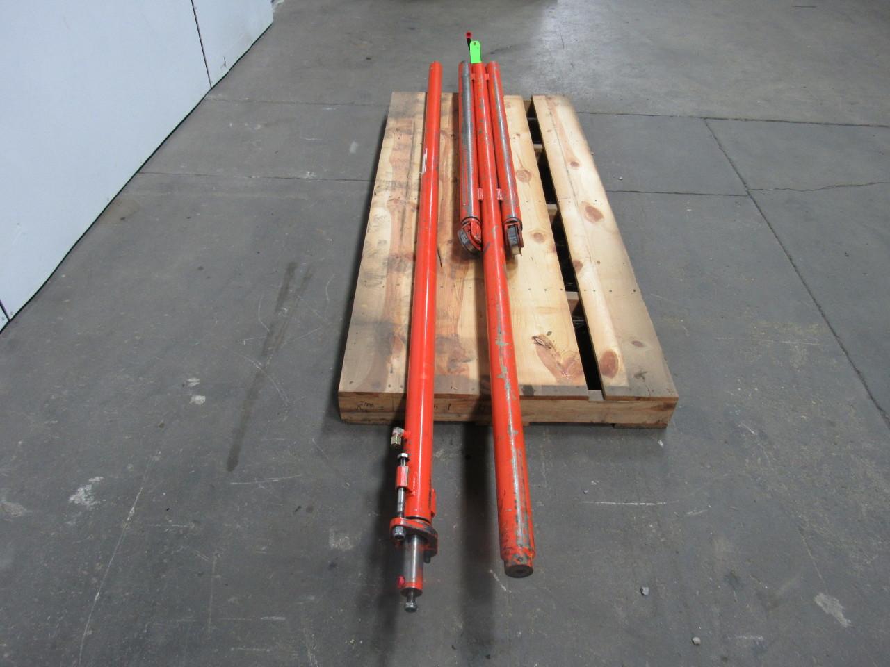Forklift Mast Interlocking : Raymond dr tt lb forklift mast cylinder pkg