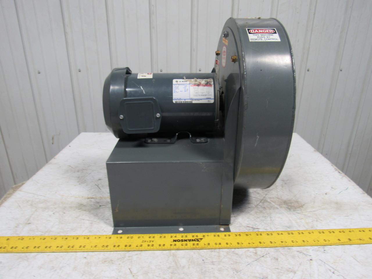 High Rpm High Pressure Blowers : Dayton c  quot w hp high pressure blower ge