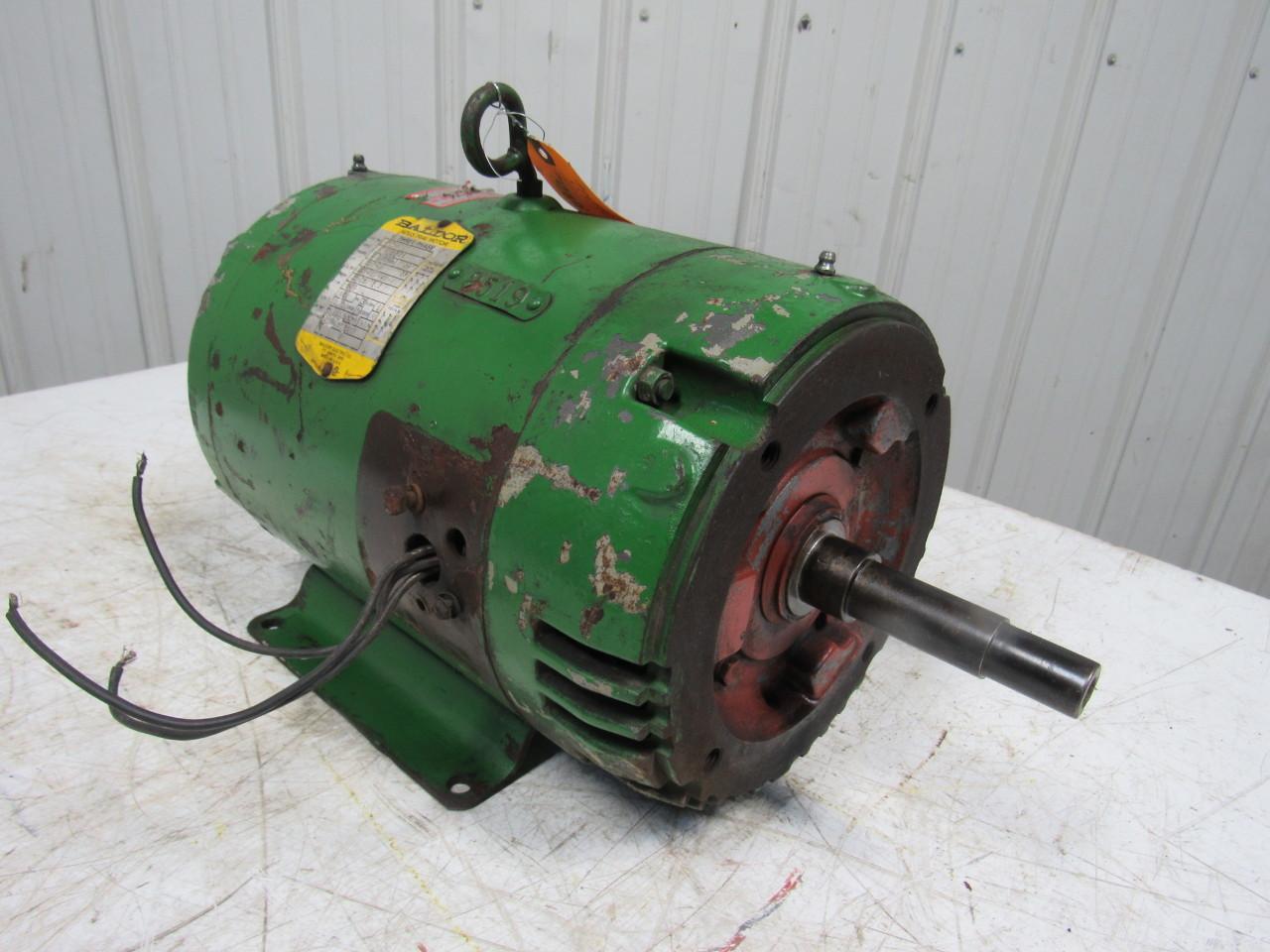 Baldor Jmm3312t 10hp Electric Motor 208 230 460v 3450 Rpm