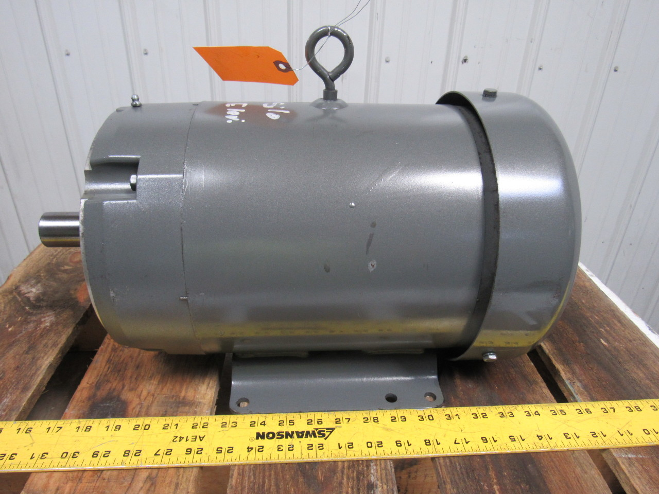 Baldor Cm3710t 7 1 2hp Ac Electric Motor 1770rpm Tefc
