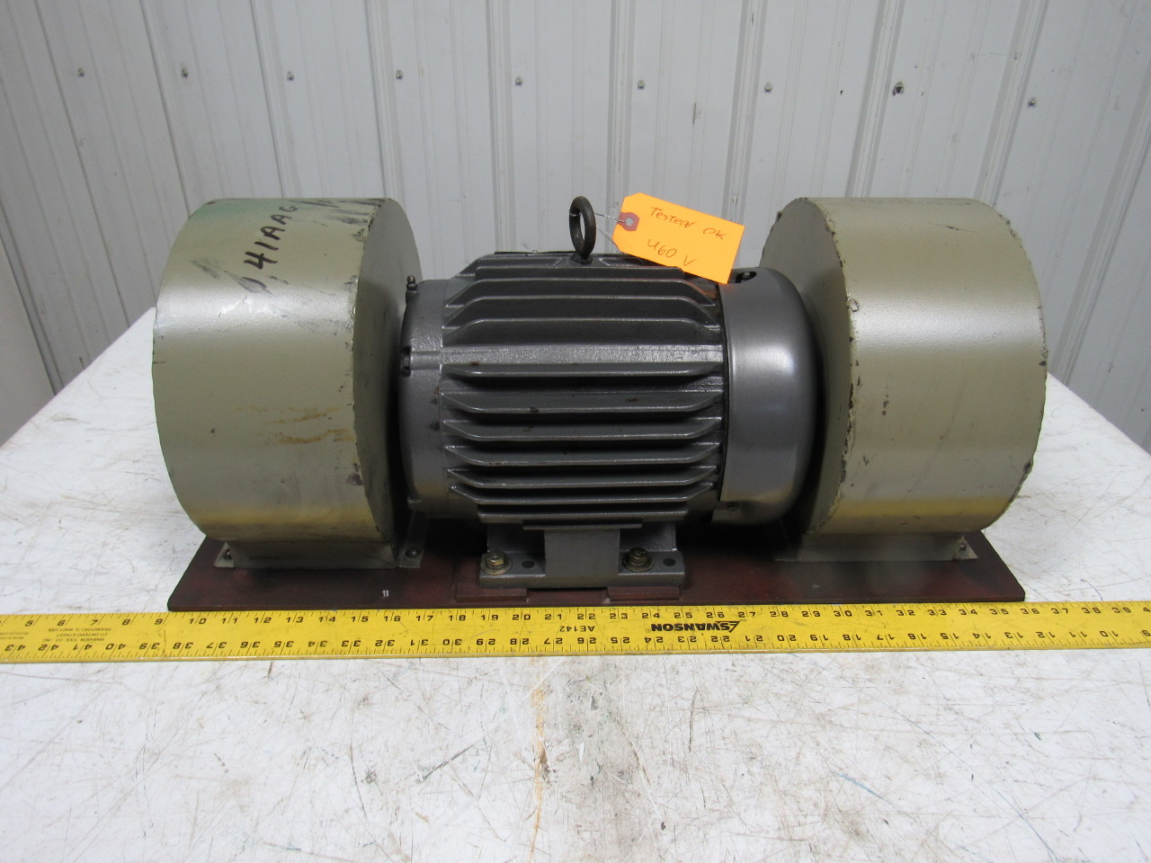 Baldor Industrial Heavy Duty Double Squirrel Cage Blower