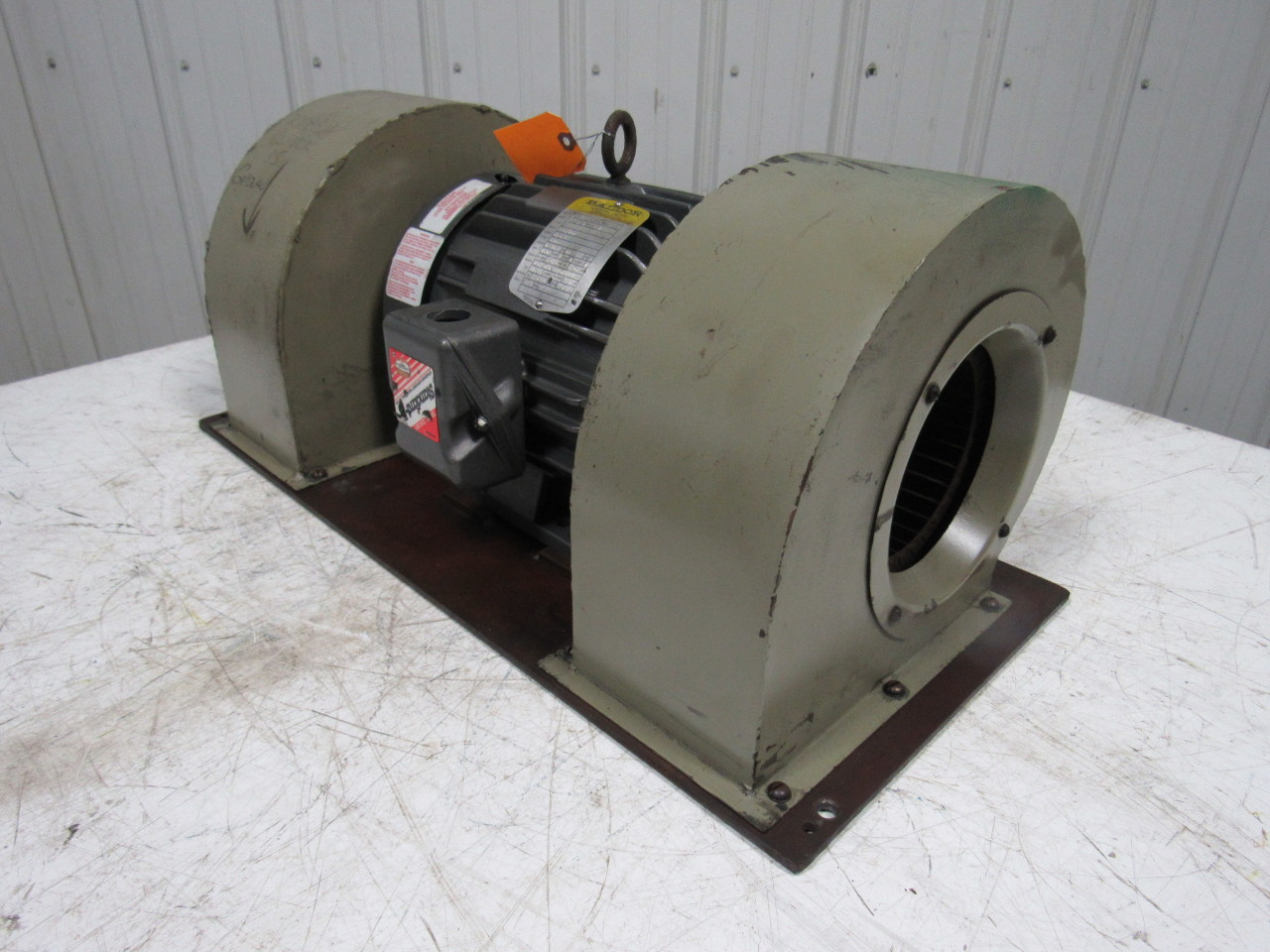 Squirrel Cage Blower : Baldor industrial heavy duty double squirrel cage blower