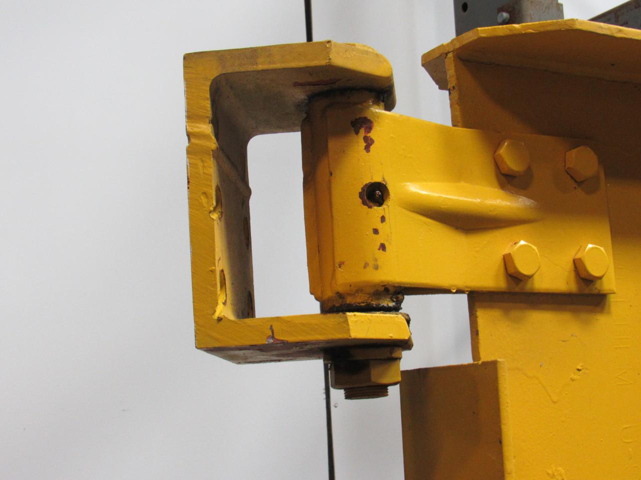 Motorized Wall Mounted Jib Crane : Cleveland beacon ton cantilever jib crane span wall