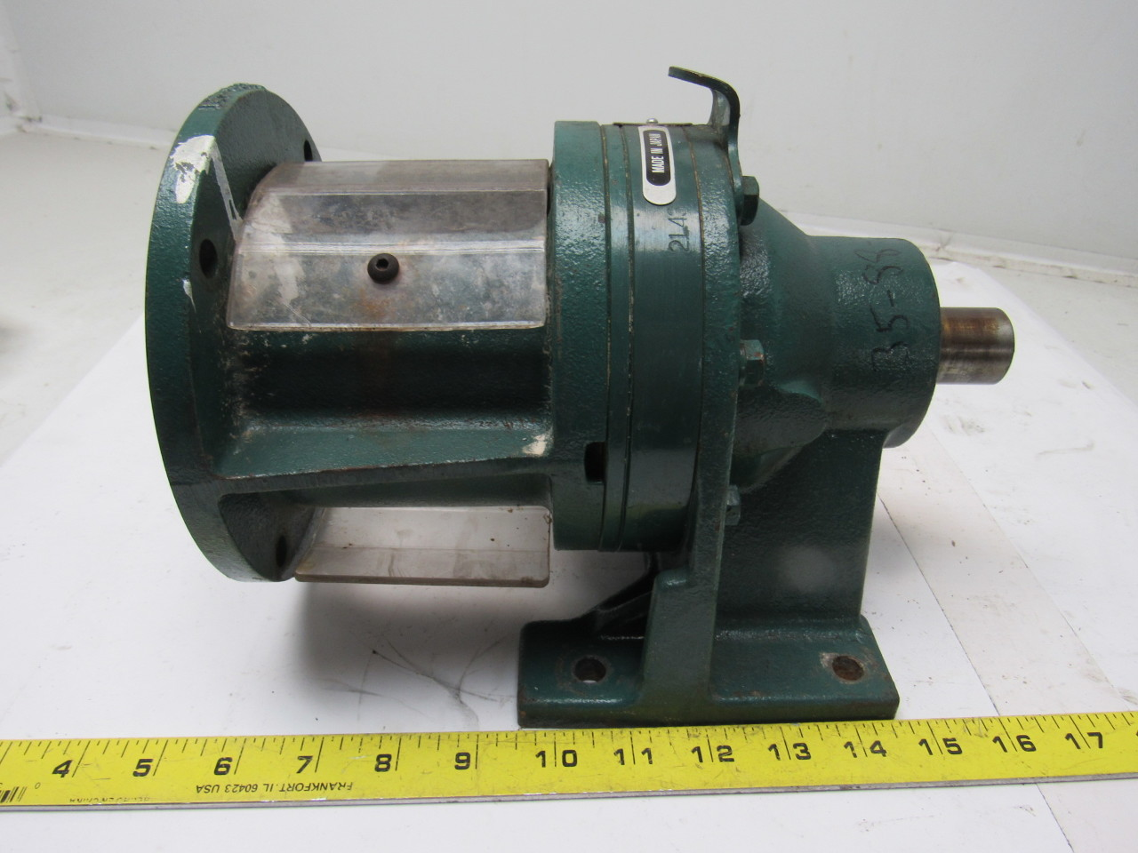 Sumitomo SM-Cyclo HC3095 Inline Gear Reducer 43:1 Ratio 0.60 Hp 1750RPM