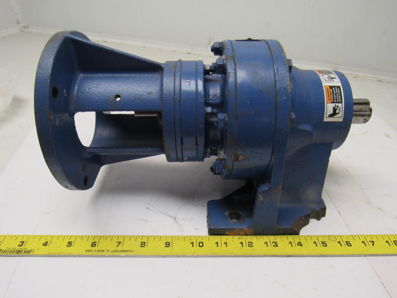 Sumitomo SM-Cyclo CNHJ-4105DAY-187 Inline Gear Reducer 167:1 Ratio 0.38 Hp