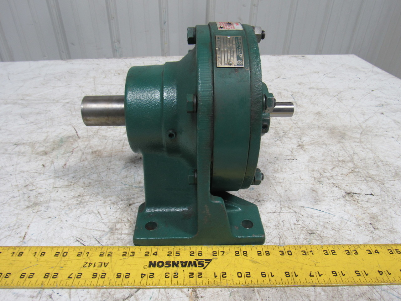 Sumitomo SM-Cyclo HC 3110 Inline Gear Reducer 35:1 Ratio 2.40 Hp