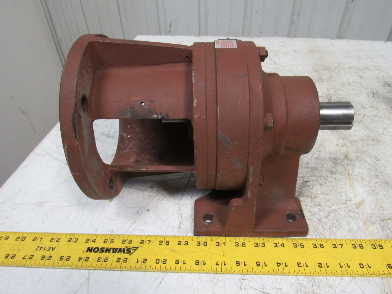 Sumitomo SM-Cyclo CNHJ-4110Y-69 Inline Gear Reducer 6:1 Ratio 4.8 Hp
