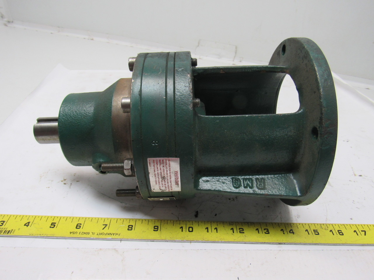 Sumitomo SM-Cyclo CNFJ-4095Y8 Inline Gear Reducer 8:1 Ratio 1.45 Hp