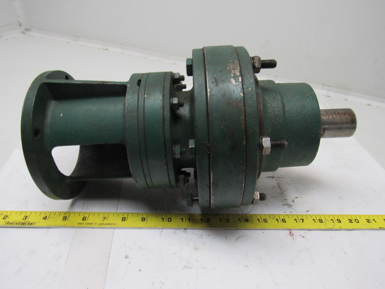Sumitomo SM-Cyclo HVC 3115/09 Inline Gear Reducer 289:1 Ratio 0.59 Hp