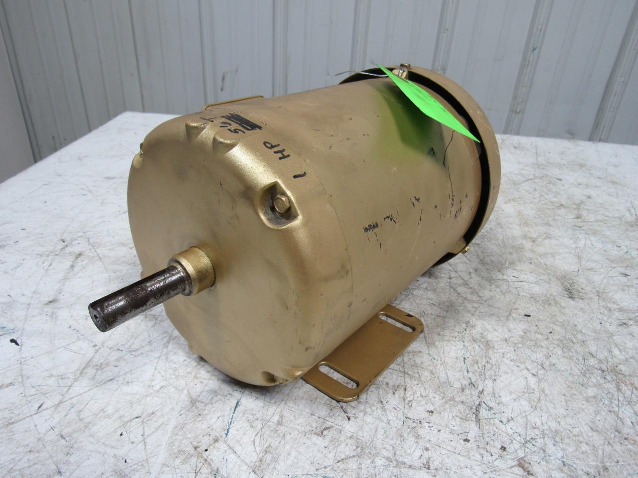 Baldor cem3545 1 hp ac electric motor 3ph 56c 3450rpm tefc for 1 8 hp electric motor
