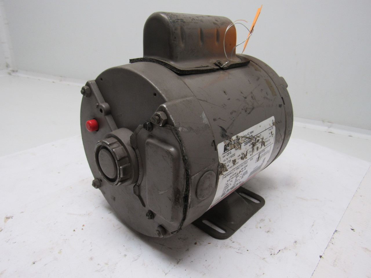 Magnetek century c310 1 3hp 1ph 115 230v 1725rpm farm duty for Farm duty electric motor