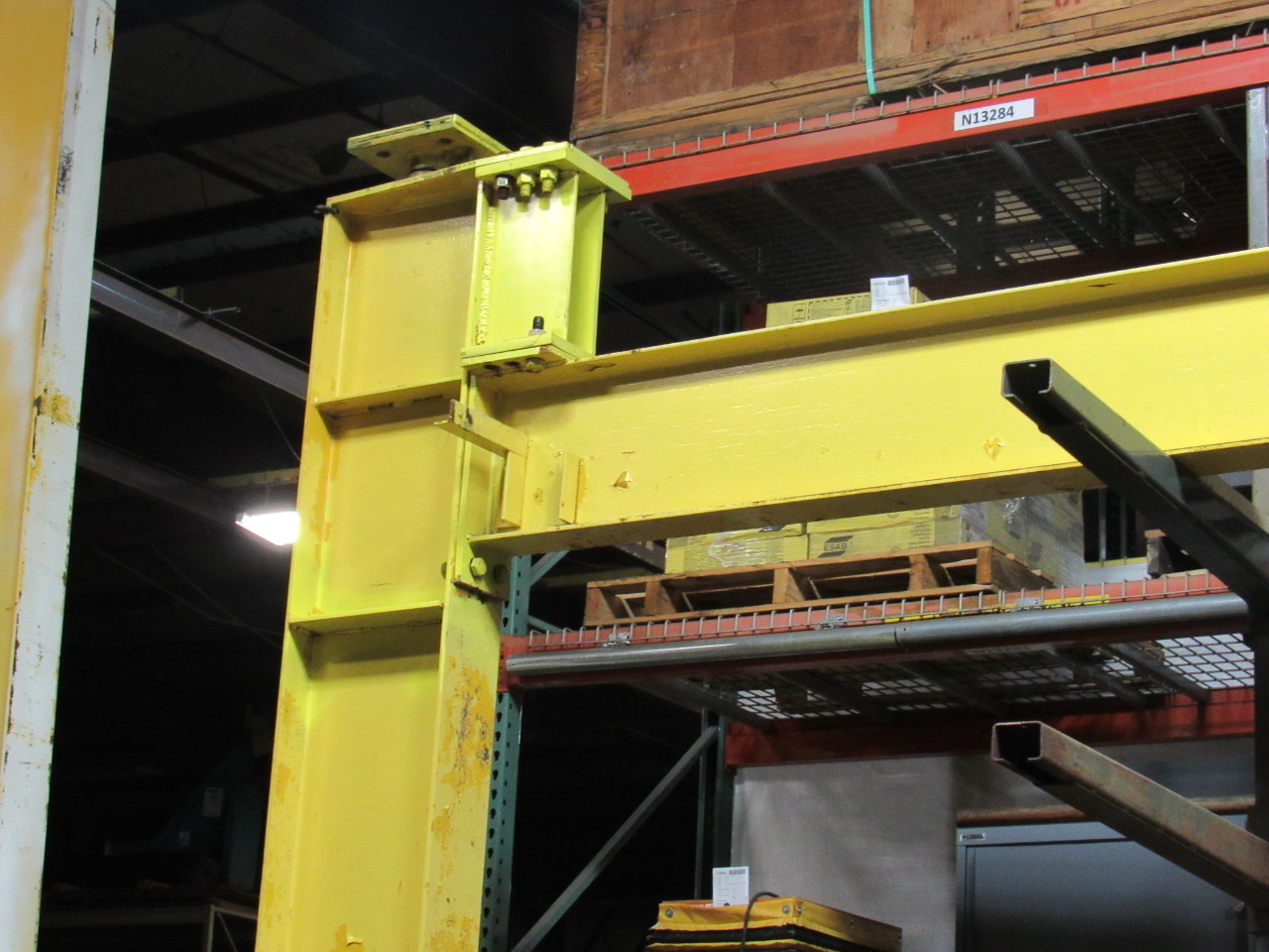 Jib Crane Manufacturers Usa : Spanco a ton mast top jib crane span