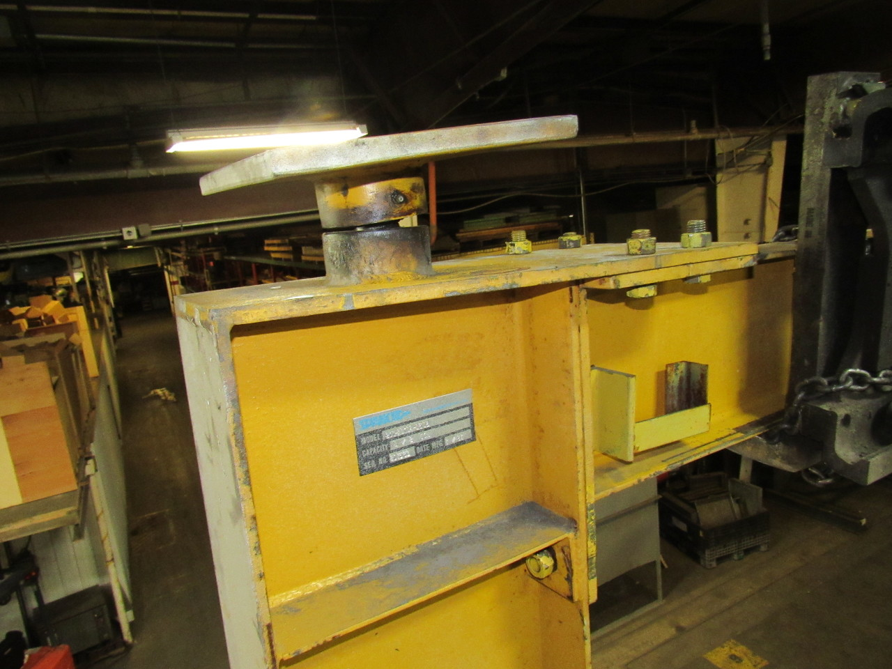 Jib Crane Manufacturers Usa : Spanco a  ton mast top cantilever jib