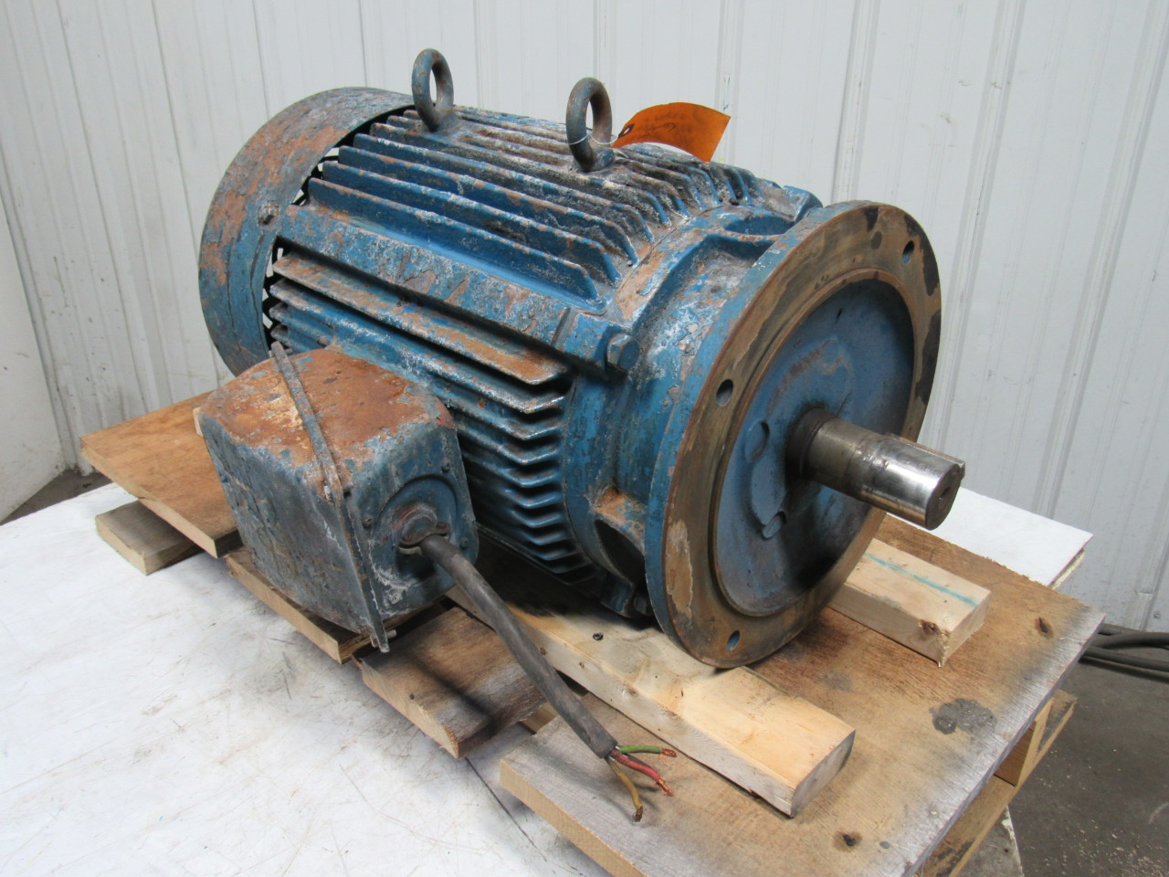 30 Hp Ac Electric Motor C Face 875 Rpm 3ph 60hz Tested Ebay