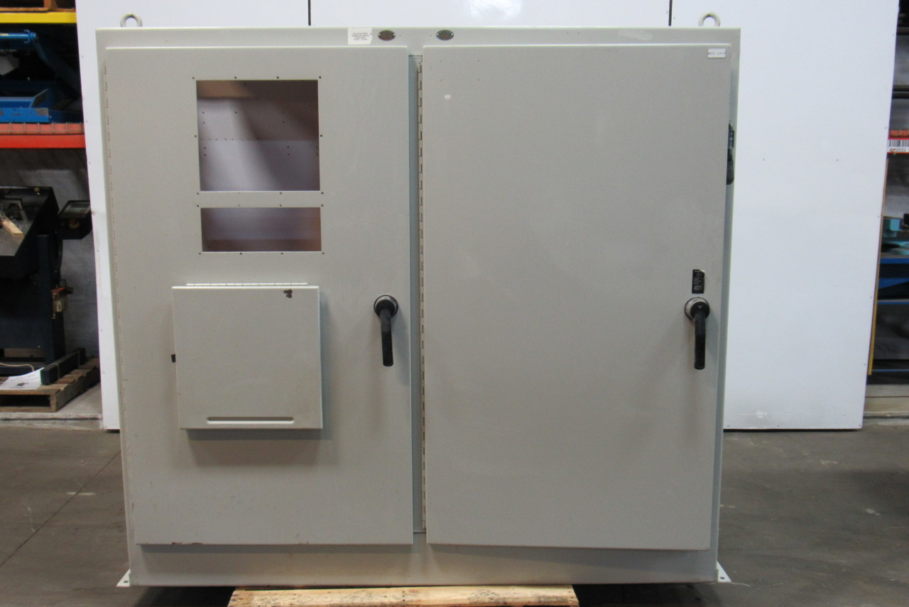 HOFFMAN A-72xM7818FTC 314LC Electrical Enclosure Cabinet 2 Door W/ Disconnect & HOFFMAN A-72xM7818FTC 314LC Electrical Enclosure Cabinet 2 Door W ... Pezcame.Com