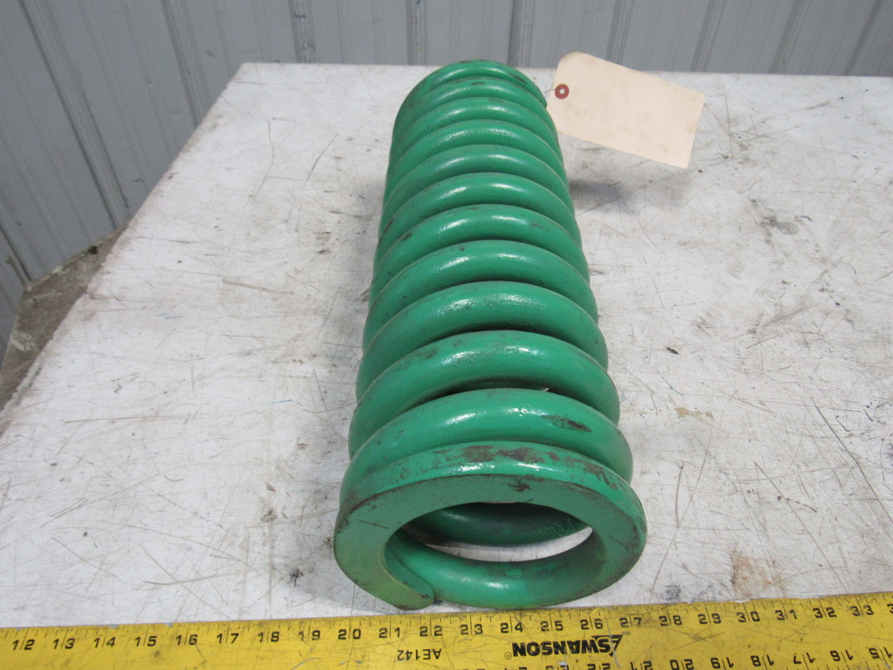 Industrial coil support spring quot
