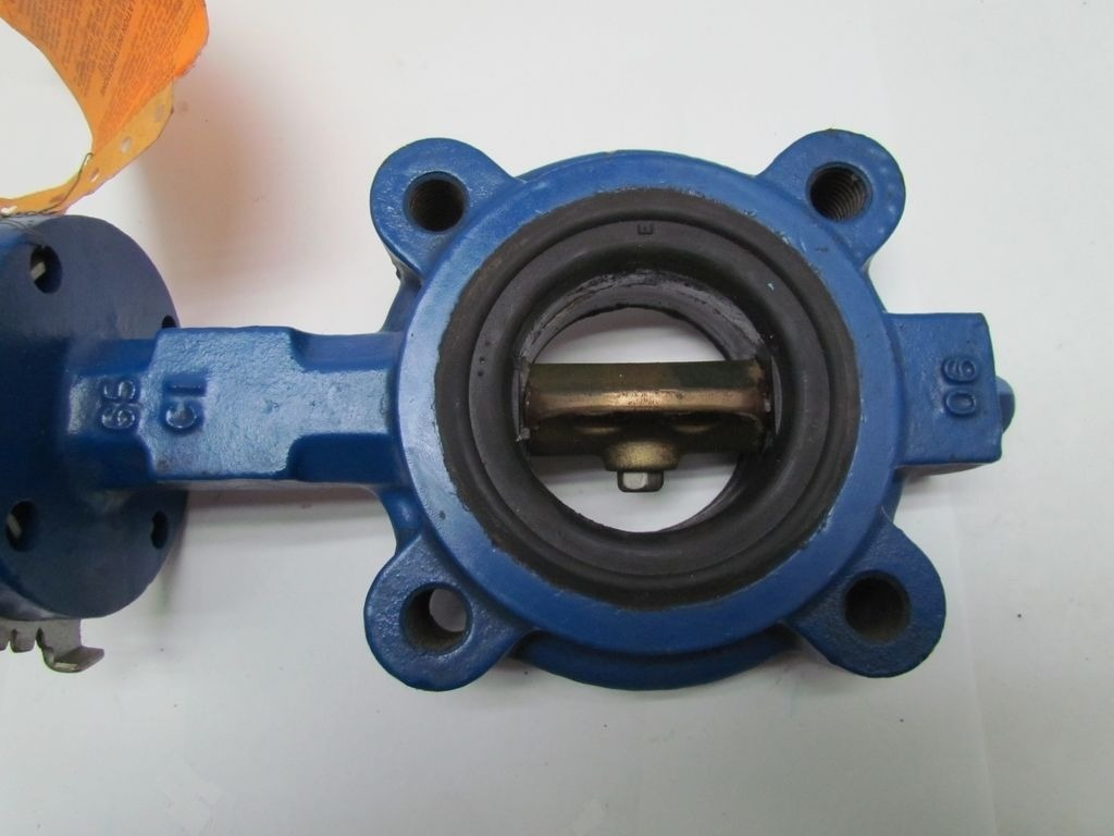 Lever Butterfly Valve : Keystone fig quot butterfly valve w lever handle